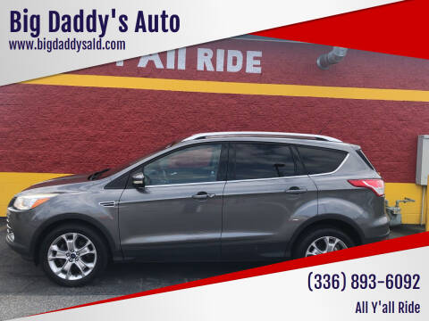 2014 Ford Escape for sale at Big Daddy's Auto in Winston-Salem NC