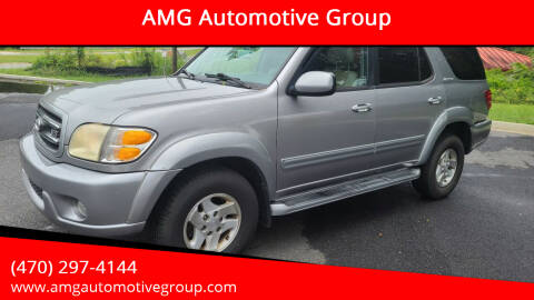 2001 Toyota Sequoia for sale at AMG Automotive Group in Cumming GA