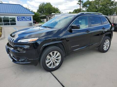 2017 Jeep Cherokee for sale at Kell Auto Sales, Inc - Grace Street in Wichita Falls TX