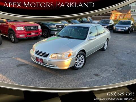 2001 Toyota Camry for sale at Apex Motors Parkland in Tacoma WA
