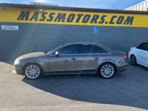 2014 Audi A4 for sale at M.A.S.S. Motors - Fairview in Boise ID