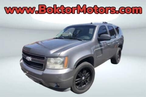 2007 Chevrolet Tahoe for sale at Boktor Motors in North Hollywood CA