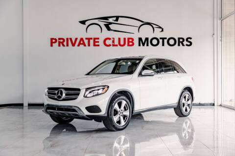 2019 Mercedes-Benz GLC for sale at Private Club Motors in Houston TX
