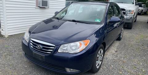 2010 Hyundai Elantra for sale at Charles and Son Auto Sales in Totowa NJ
