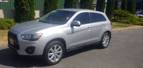 2015 Mitsubishi Outlander Sport for sale at AUTOTRACK INC in Mount Vernon WA
