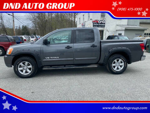 2008 Nissan Titan for sale at DND AUTO GROUP in Belvidere NJ