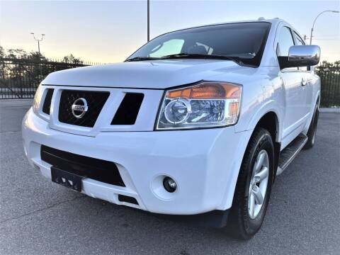 2012 Nissan Armada for sale at Ultimate Motors in Port Monmouth NJ
