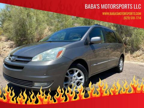 2004 Toyota Sienna for sale at Baba's Motorsports, LLC in Phoenix AZ
