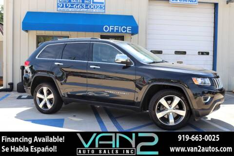 2014 Jeep Grand Cherokee for sale at Van 2 Auto Sales Inc in Siler City NC