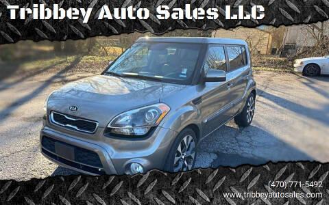 2012 Kia Soul for sale at Tribbey Auto Sales in Stockbridge GA