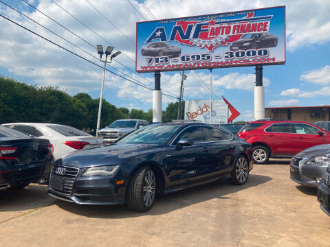 2015 Audi A7 for sale at ANF AUTO FINANCE in Houston TX
