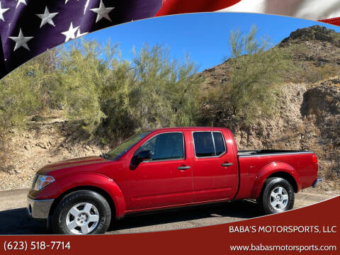 2007 Nissan Frontier for sale at Baba's Motorsports, LLC in Phoenix AZ
