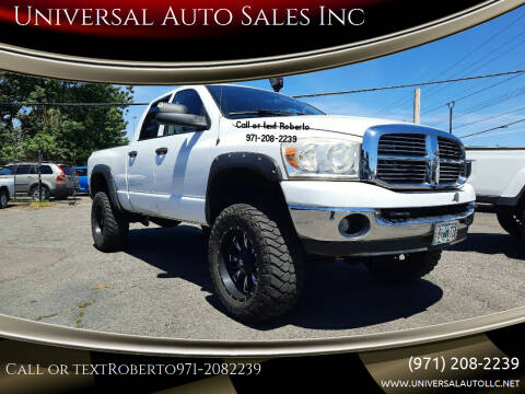2007 Dodge Ram Pickup 2500 for sale at Universal Auto Sales Inc in Salem OR