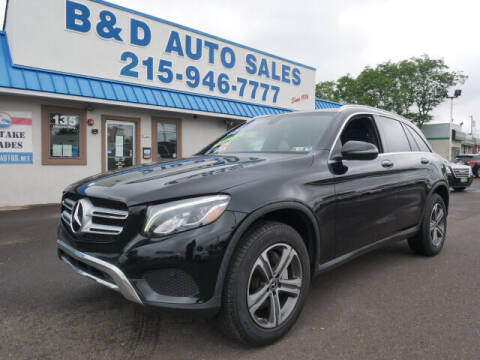 2017 Mercedes-Benz GLC for sale at B & D Auto Sales Inc. in Fairless Hills PA