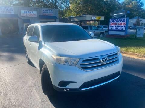 2012 Toyota Highlander for sale at BRAVA AUTO BROKERS LLC in Clarkston GA