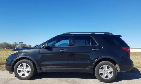 2014 Ford Explorer for sale at Palmer Auto Sales in Rosenberg TX