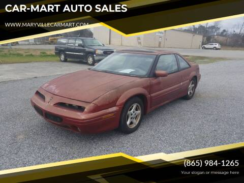 1995 Pontiac Grand Prix for sale at CAR-MART AUTO SALES in Maryville TN