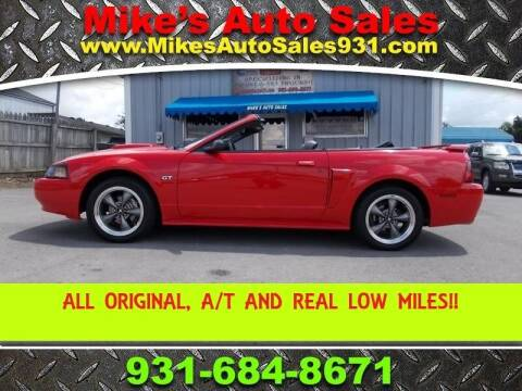 2003 Ford Mustang for sale at Mike's Auto Sales in Shelbyville TN