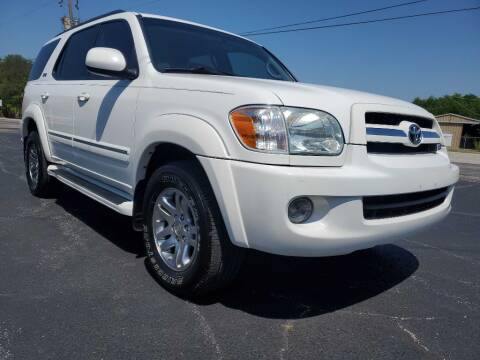 2006 Toyota Sequoia for sale at Thornhill Motor Company in Hudson Oaks, TX