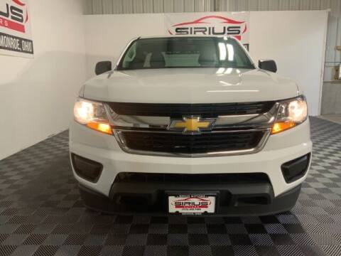 2017 Chevrolet Colorado for sale at SIRIUS MOTORS INC in Monroe OH