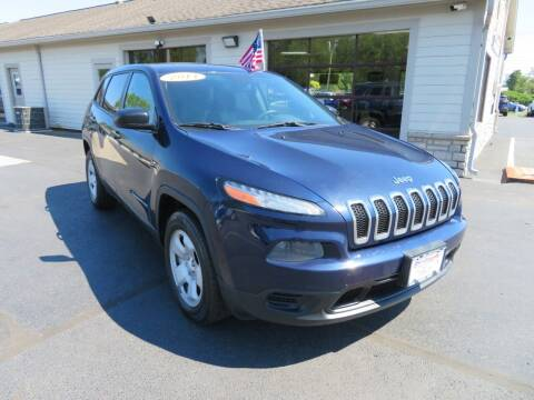 2014 Jeep Cherokee for sale at Tri-County Pre-Owned Superstore in Reynoldsburg OH