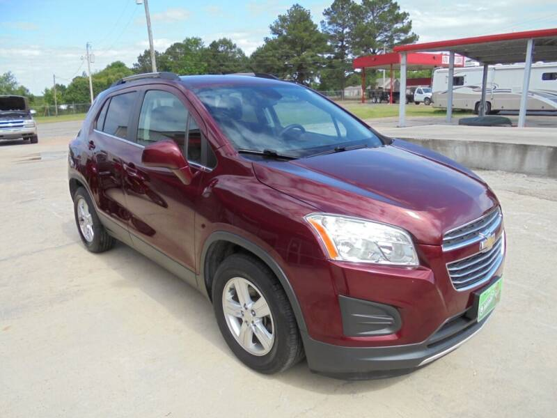 2016 Chevrolet Trax for sale at US PAWN AND LOAN in Austin AR