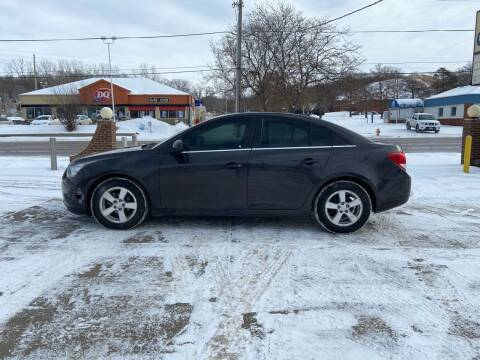 2014 Chevrolet Cruze for sale at RIVERSIDE AUTO SALES in Sioux City IA