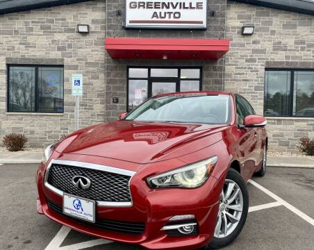 2015 Infiniti Q50 for sale at GREENVILLE AUTO in Greenville WI