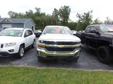 2016 Chevrolet Silverado 1500 for sale at Pool Auto Sales Inc in Spencerport NY