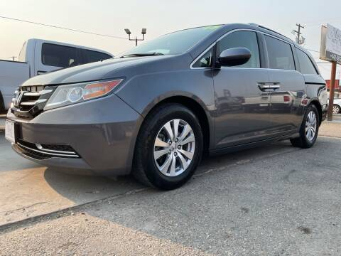 2015 Honda Odyssey for sale at MAGIC AUTO SALES, LLC in Nampa ID