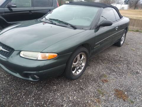 2000 Chrysler Sebring for sale at Auto Credit Xpress in North Little Rock AR