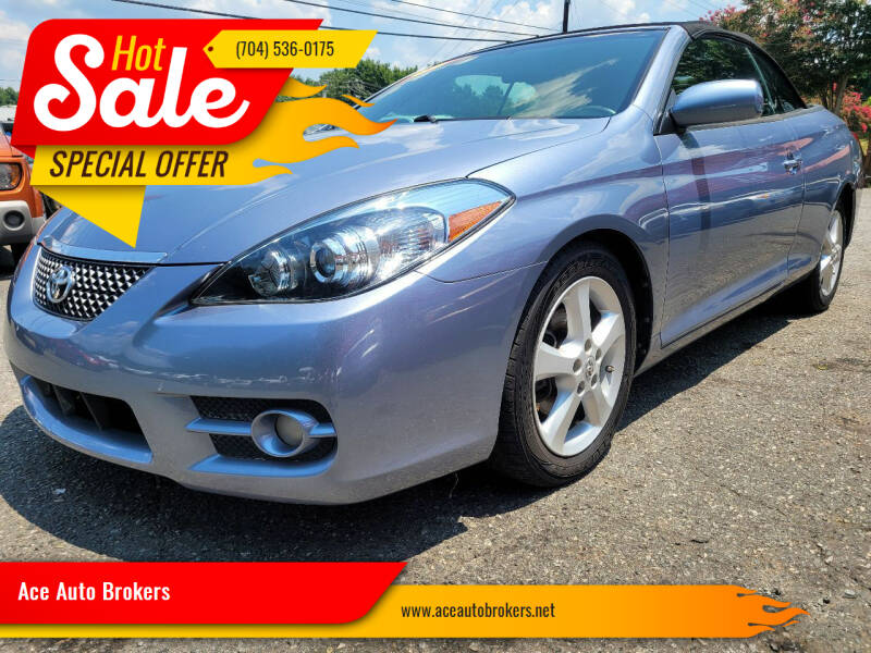 2008 Toyota Camry Solara for sale at Ace Auto Brokers in Charlotte NC
