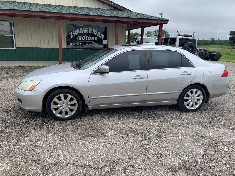2006 Honda Accord for sale at Zimmerman Motors LLC in Wathena KS