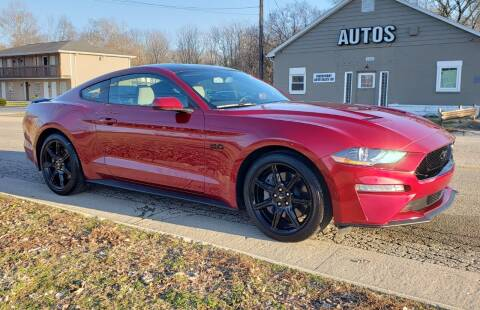 2018 Ford Mustang for sale at Riverfront Auto Sales in Middletown OH