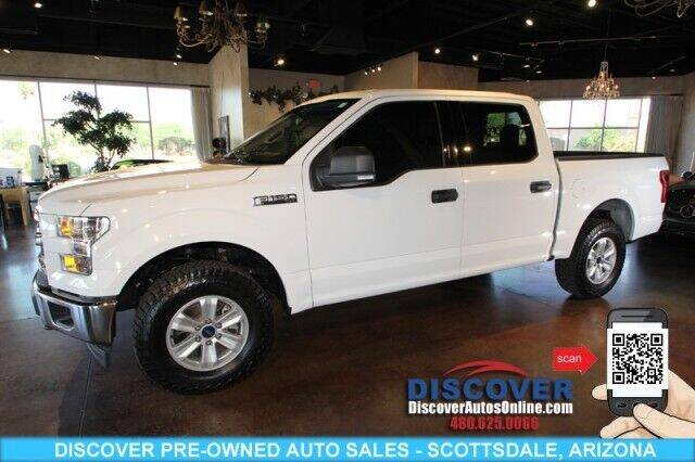2017 Ford F-150 for sale at Discover Pre-Owned Auto Sales in Scottsdale AZ