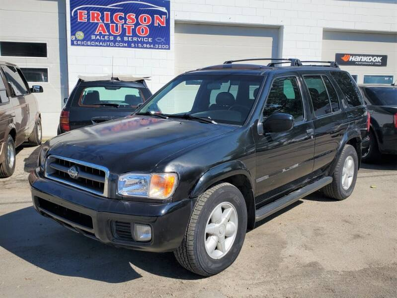 2001 Nissan Pathfinder for sale at Ericson Auto in Ankeny IA