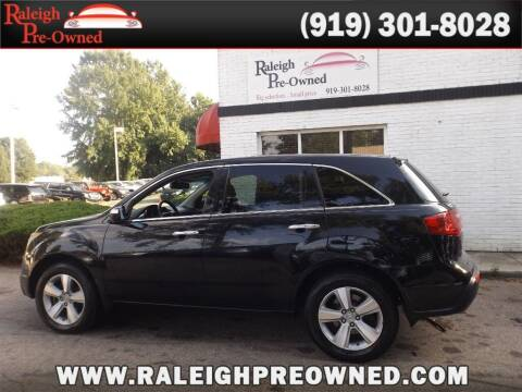 2012 Acura MDX for sale at Raleigh Pre-Owned in Raleigh NC