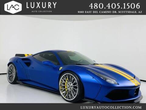 2017 Ferrari 488 GTB for sale at Luxury Auto Collection in Scottsdale AZ