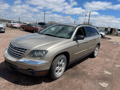 2004 Chrysler Pacifica for sale at PYRAMID MOTORS - Fountain Lot in Fountain CO