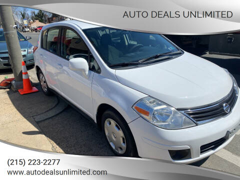 2010 Nissan Versa for sale at AUTO DEALS UNLIMITED in Philadelphia PA