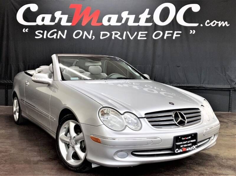 2005 Mercedes-Benz CLK for sale at CarMart OC in Costa Mesa CA