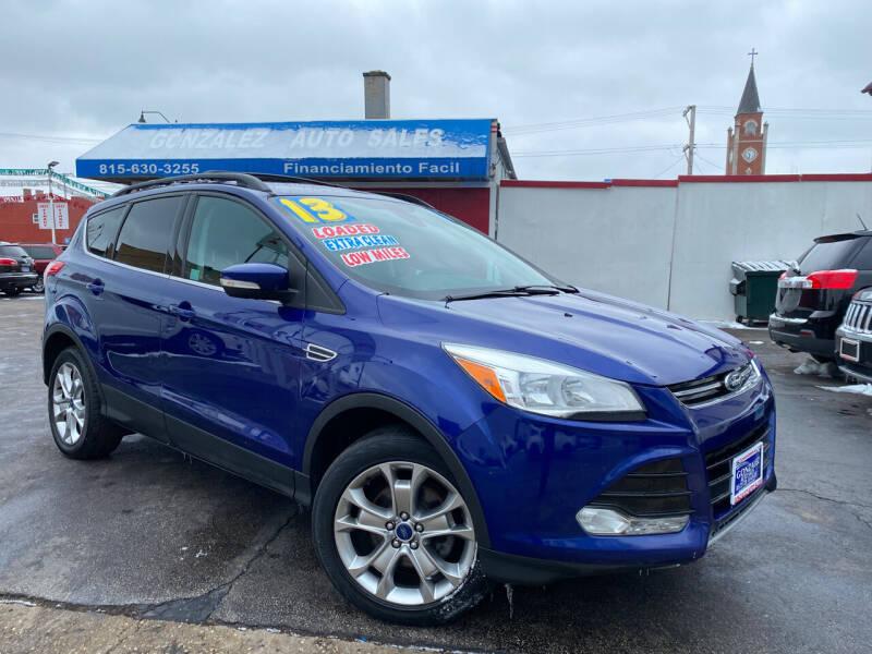 2013 Ford Escape for sale at Gonzalez Auto Sales in Joliet IL