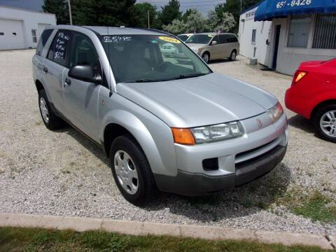 2004 Saturn Vue for sale at Marty Hart's Auto Sales in Sturgis MI