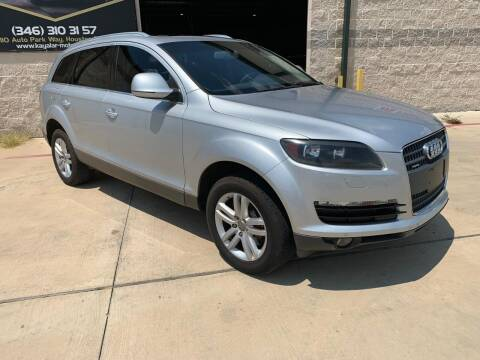 2008 Audi Q7 for sale at KAYALAR MOTORS - ECUFAST HOUSTON in Houston TX