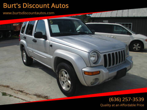 2004 Jeep Liberty for sale at Burt's Discount Autos in Pacific MO