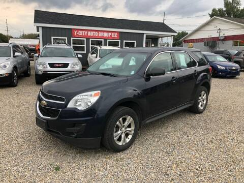 2015 Chevrolet Equinox for sale at Y City Auto Group in Zanesville OH