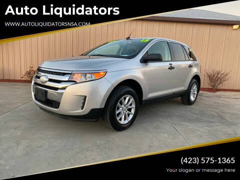 2013 Ford Edge for sale at Auto Liquidators in Bluff City TN