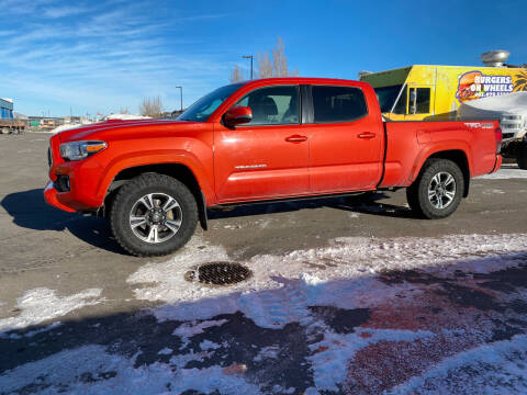 2018 Toyota Tacoma for sale at Canuck Truck in Magrath AB