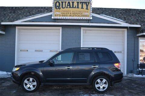 2009 Subaru Forester for sale at Quality Pre-Owned Automotive in Cuba MO