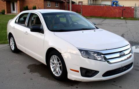 2010 Ford Fusion for sale at Angelo's Auto Sales in Lowellville OH